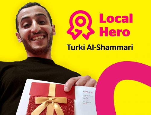 Turki Al-Shammari hailed as UVA Local Hero after saving a dog walker from drowning